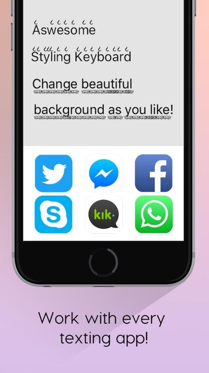 Cool Font Keyboard – Customize Color Themes screenshot-3