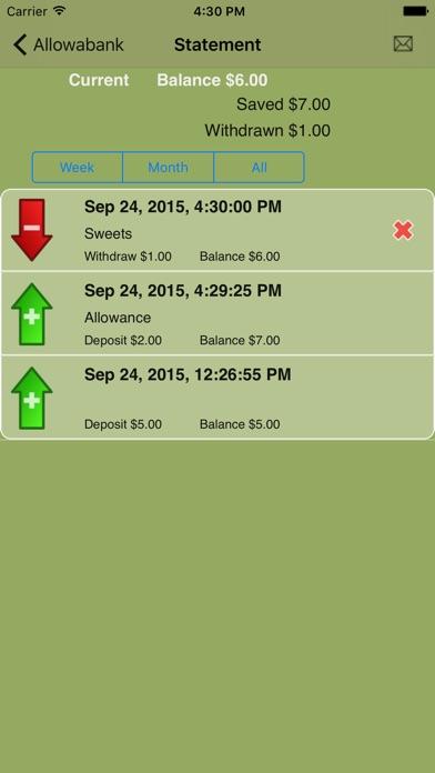 Allowabank (allowance Monitor) review screenshots