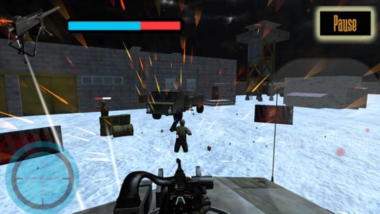 US Army Gunner Battle City War screenshot-4