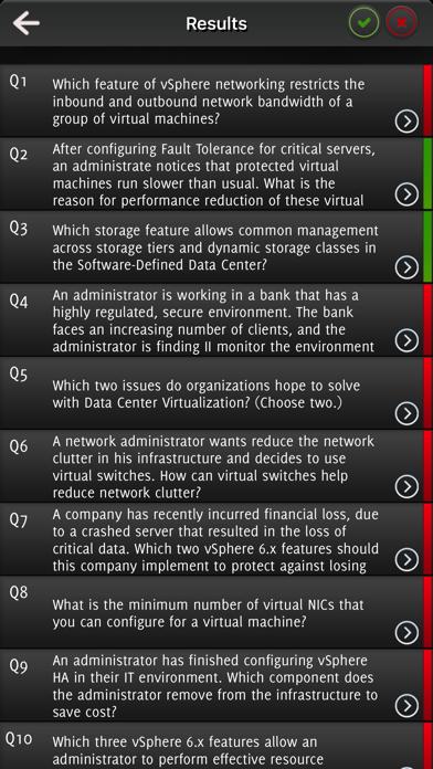 VCA6-DCV -Data Center Virtualization Exam Question screenshot 5