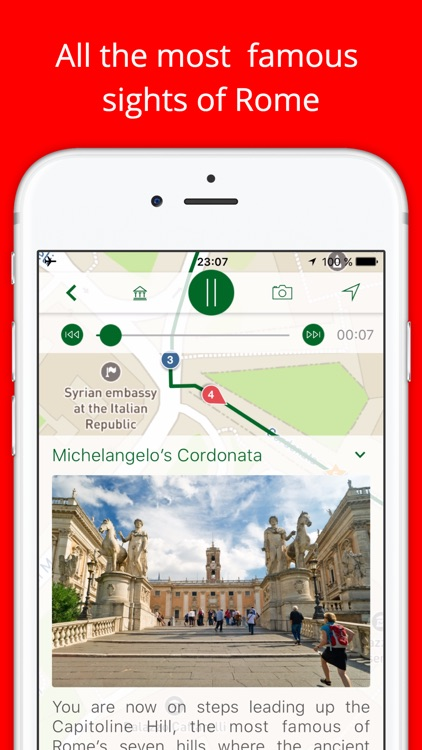 My Rome - Travel Guide with audio guide and map screenshot-1