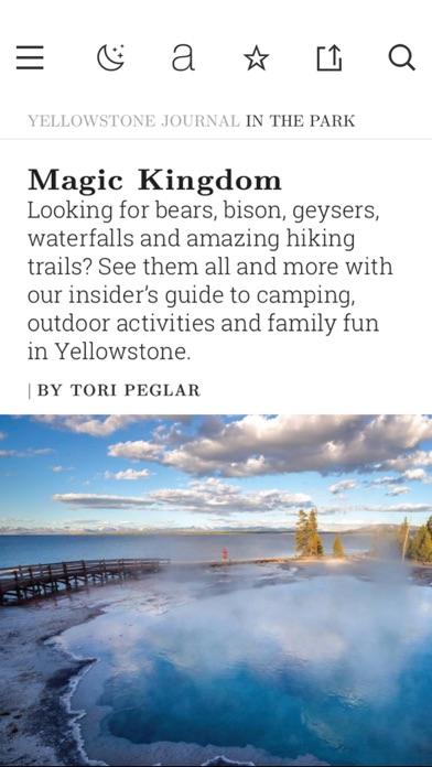 National Park Journal review screenshots