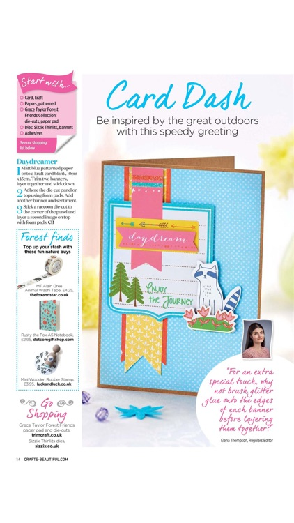 Crafts Beautiful – craft magazine specialising in knitting, crochet, quilling, felting, embossing and much more screenshot-3