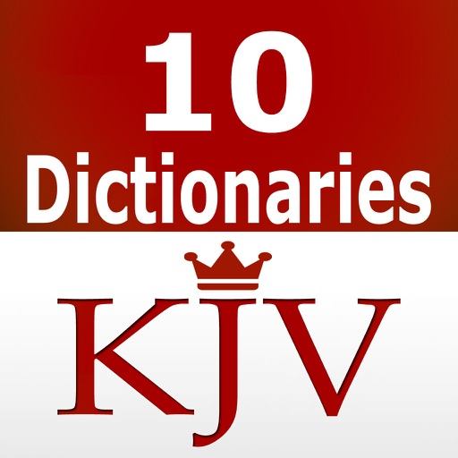 KJV Bible Dictionaries and Strong's Concordance