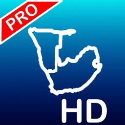 Aqua Map South Africa HD Pro - GPS Nautical Charts
