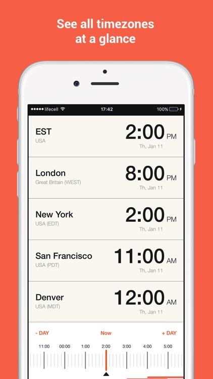 TimeSnap - Time Zone Converter, World Clock
