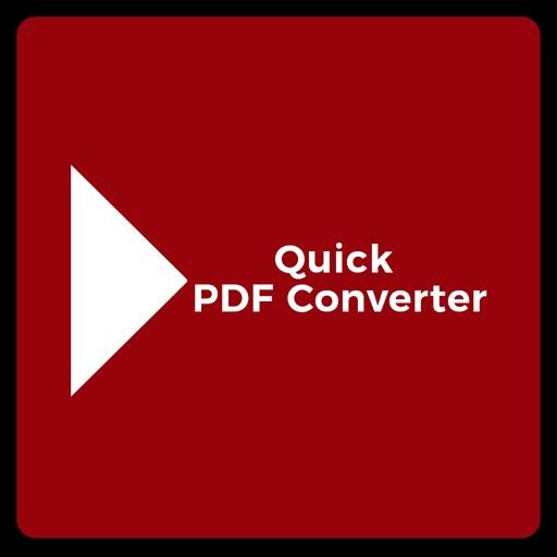 Quick PDF Converter - Convert Documents To PDF iOS App