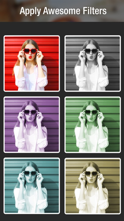 Photo Collage Creator - Pic Frames, Picture Editor screenshot-3