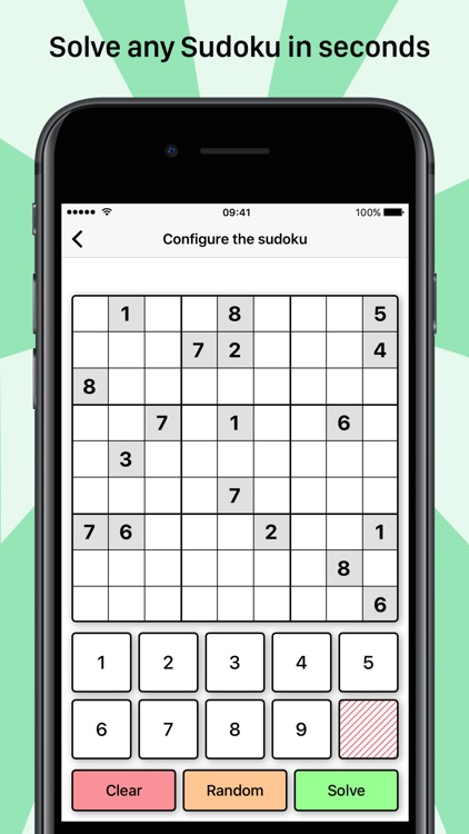 Solve your Sudoku