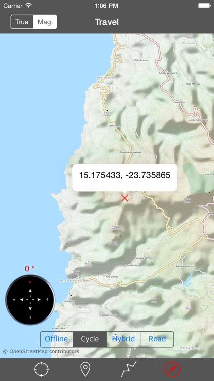 CAPE VERDE (SANTIAGO I) – GPS Travel Map Navigator