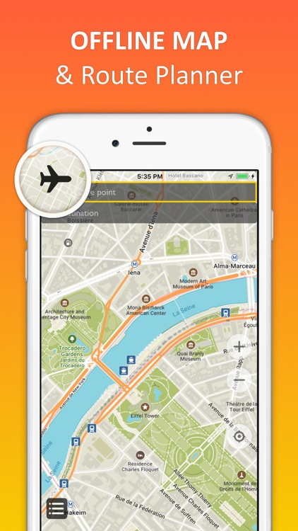 Paris Offline Map Nav By Andrii Zborovskyi