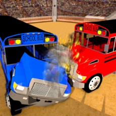 Activities of School Bus Derby Crash Racing