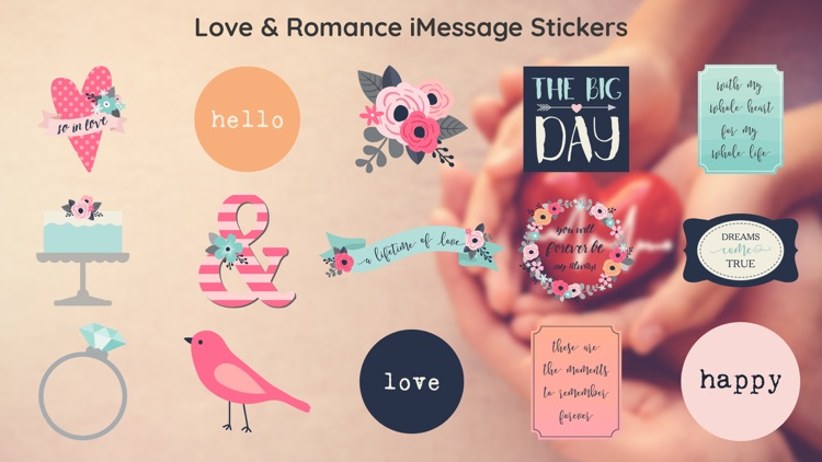 Be My Valentine - Love Sticker
