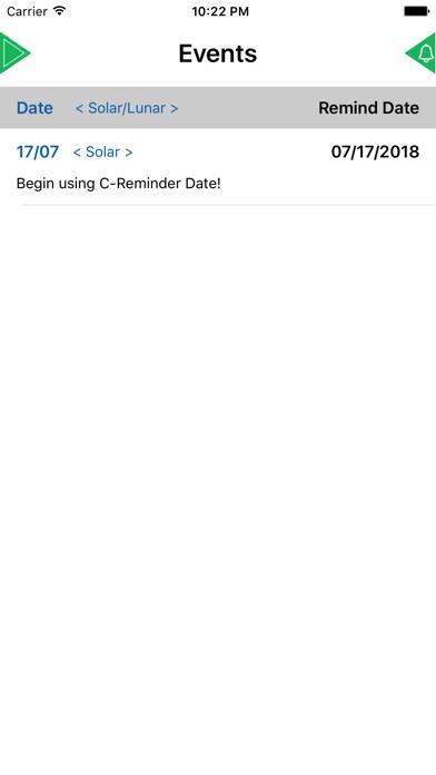 Lunar Reminder Solar Reminder Event Reminder для ПК 1