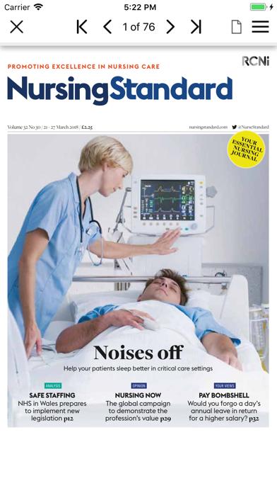 Nursing Standard screenshot three