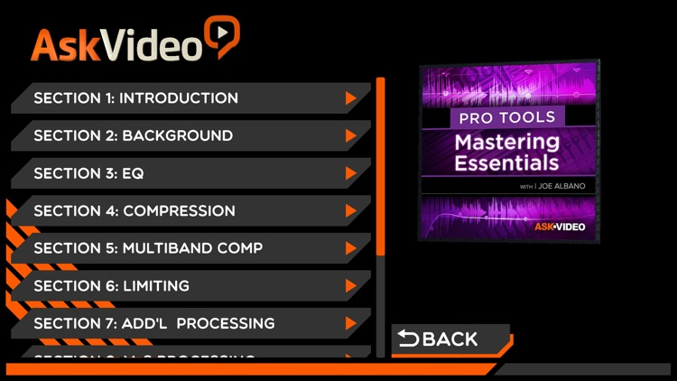 Course For Pro Tools Mastering