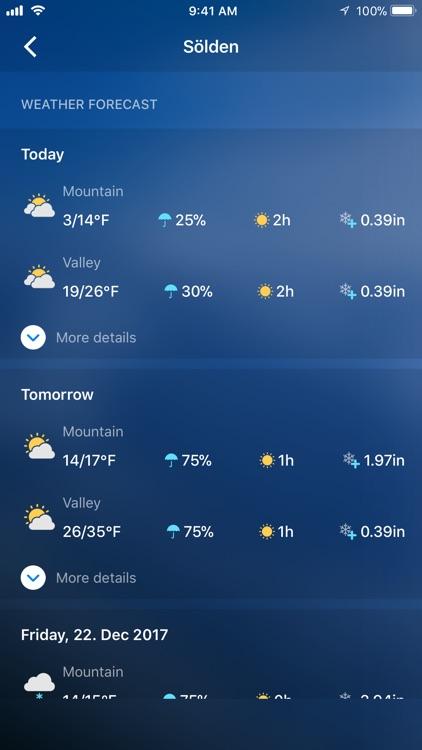 Snow Report Ski App screenshot-3