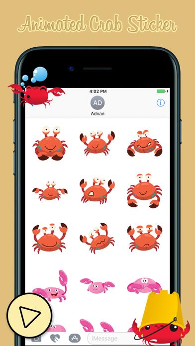 Animated Crab Emoji
