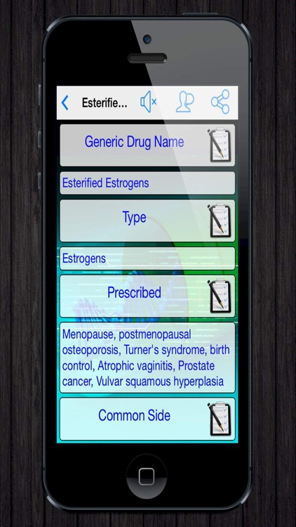 Drug Index and Interaction