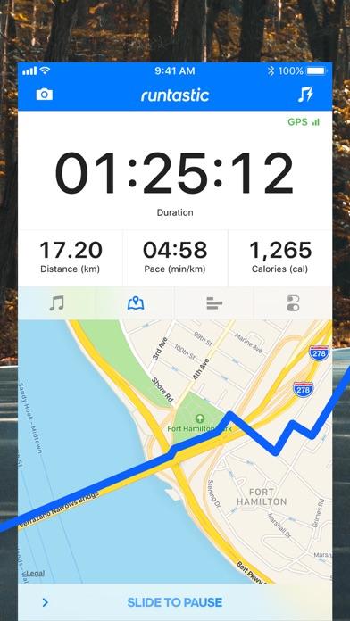 Runtastic PRO Running Tracker Screenshots