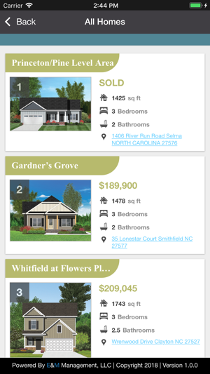 Remarkable Johnston County Parade Im App Store Home Interior And Landscaping Palasignezvosmurscom