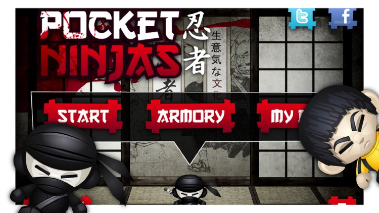 Pocket Ninjas screenshot-0