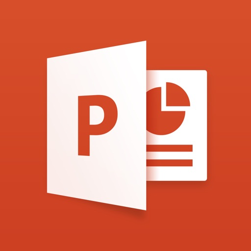 Microsoft PowerPoint app logo