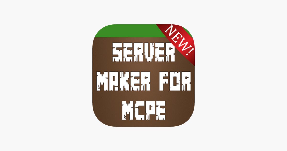 Multiplayer Server Ersteller Für Minecraft PE Im App Store - Minecraft server erstellen ohne geld