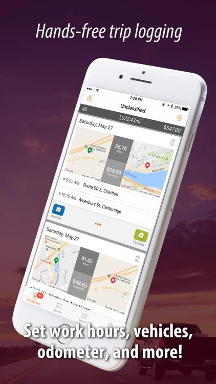 Auto Mileage Tracker Log screenshot-0