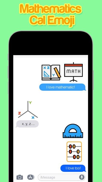 Mathematics Cal Emoji