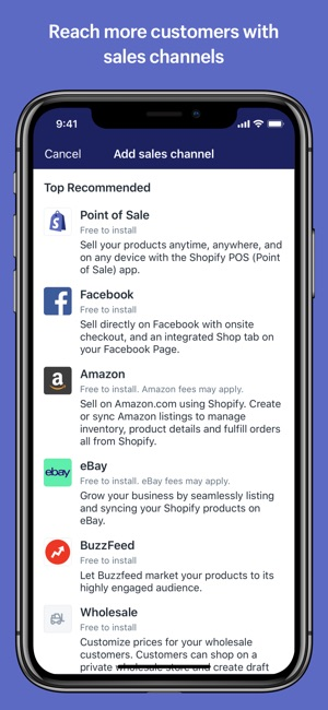 Shopify On The App Store - What is the best invoice app for ipad online jewelry store