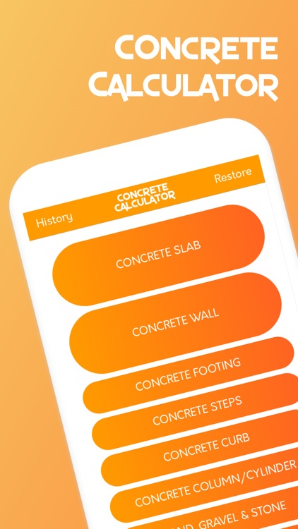 Contractor Concrete Calculator