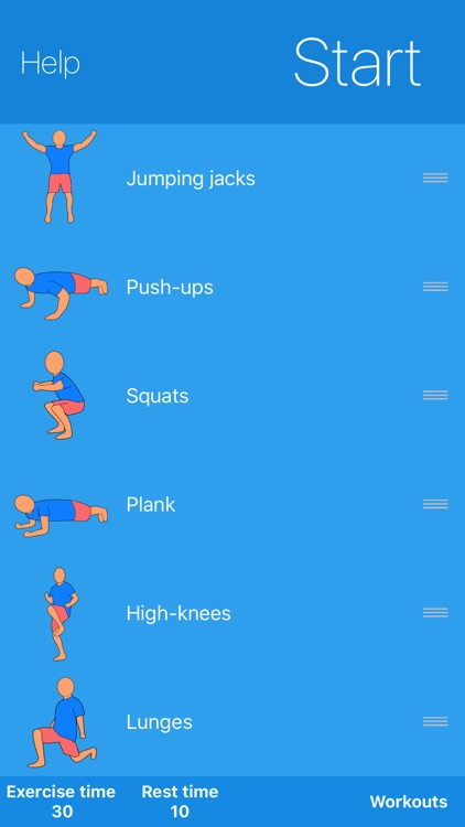 Fit at Home Workout Challenge