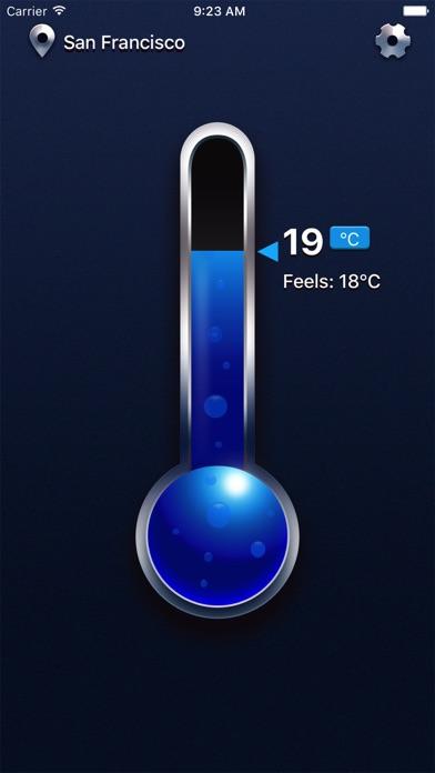 Thermomètre réel Pro - Mesure de température