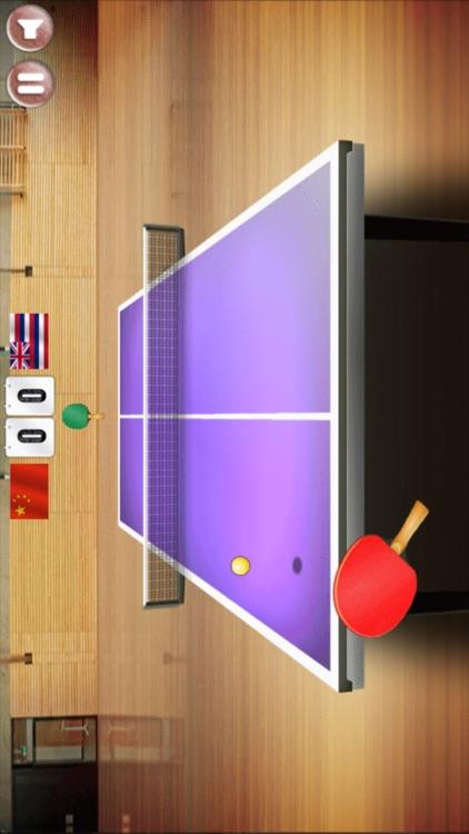 乒乓球友谊赛-极具挑战的超棒乒乓球