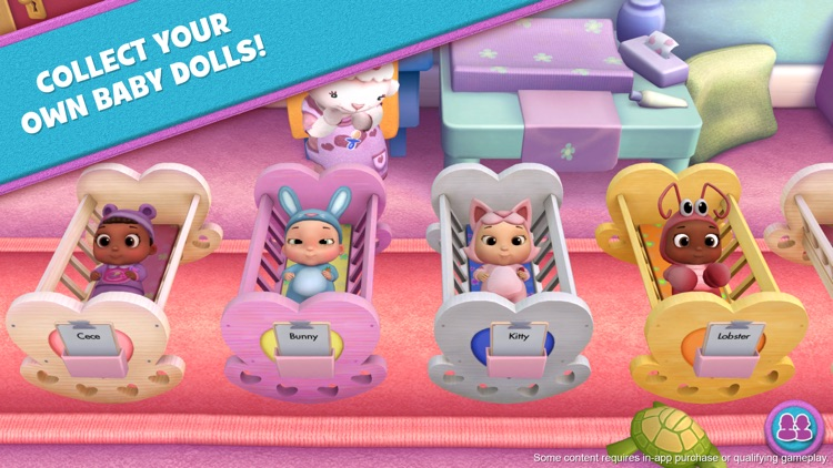 Doc McStuffins: Baby Nursery screenshot-0