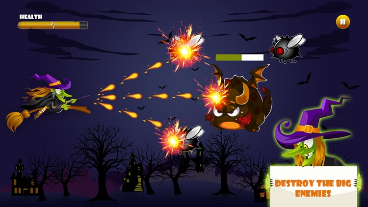 Angry Witch on Scary Run screenshot-3