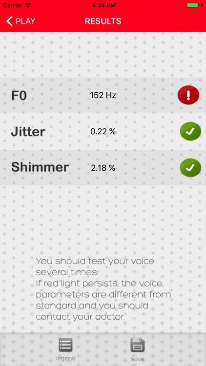 Voice Test screenshot-3