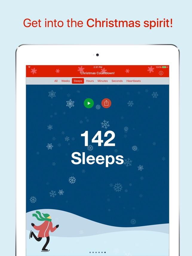 christmas countdown on the app store
