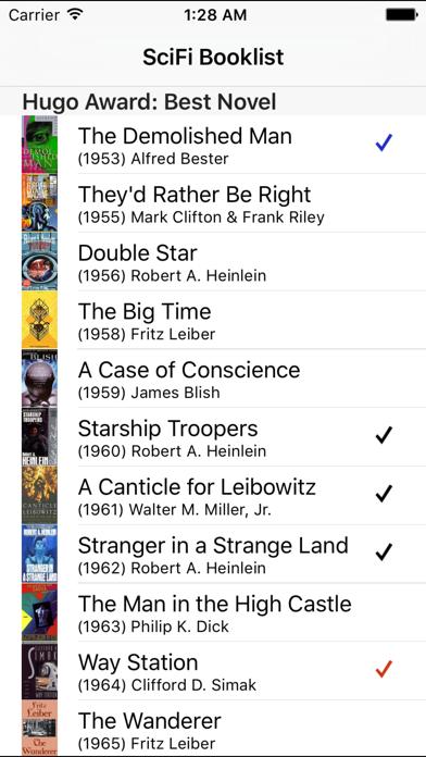 SciFi Booklist   App Price Drops
