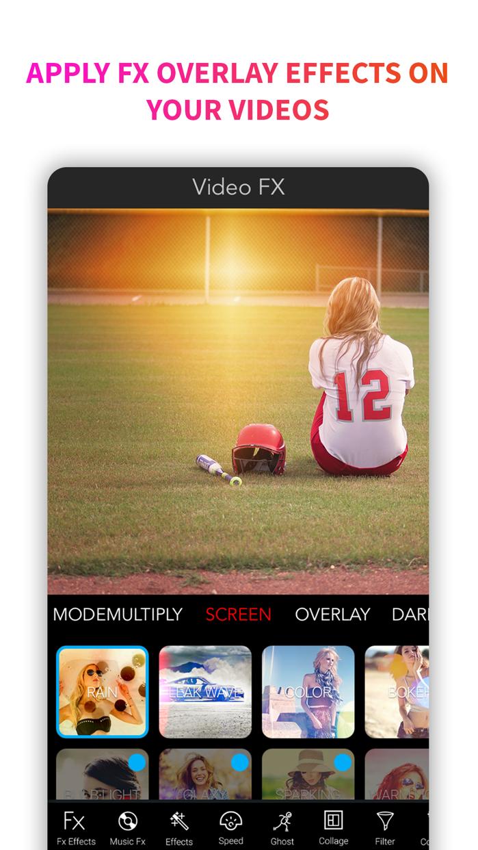 Video Editor Filters & Effect Screenshot