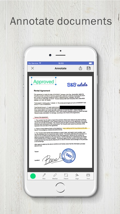 FineScanner PRO - PDF Scanner screenshot-3
