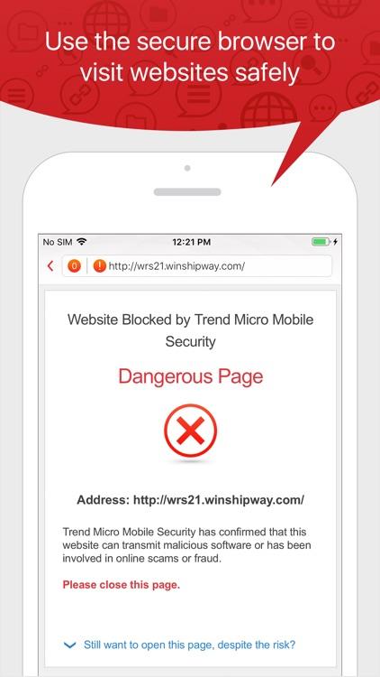 TM Mobile Security - WebFilter screenshot-3