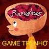 Game trí nhớ-Game trí tuệ - iPhoneアプリ