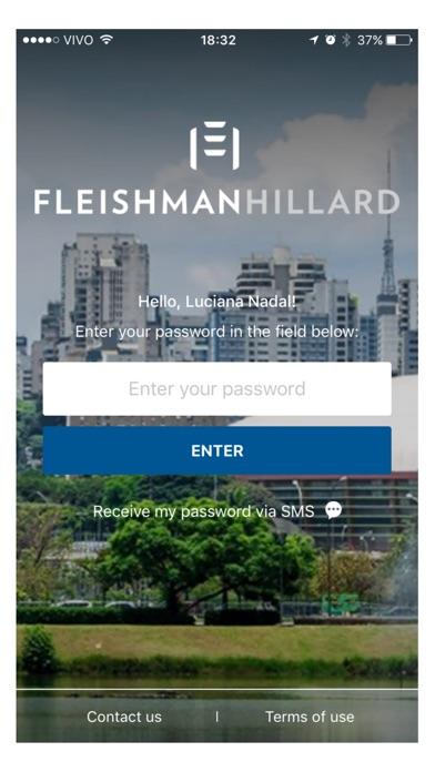 FH App - FleishmanHillard Screenshot
