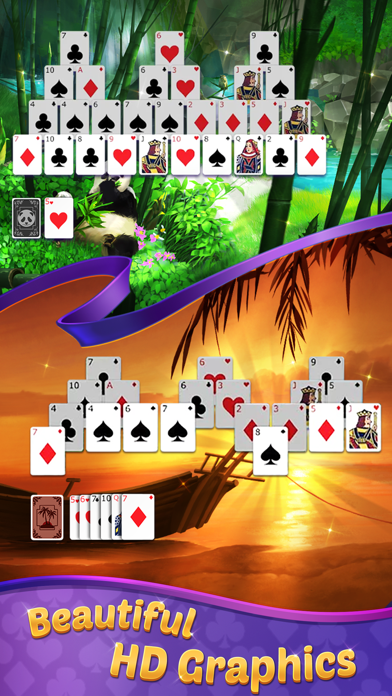 TriPeaks Solitaire with Themes screenshot 2