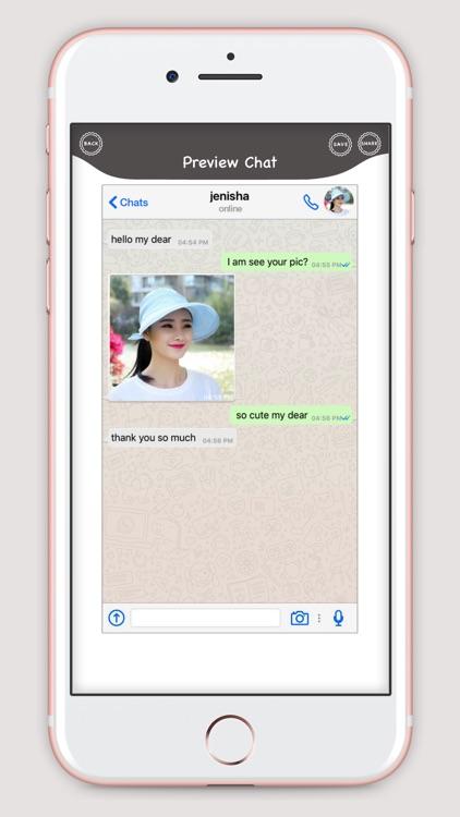 WhatsUp Prank Chat screenshot-3