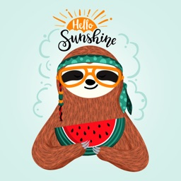 Pets Love  Summer Stickers