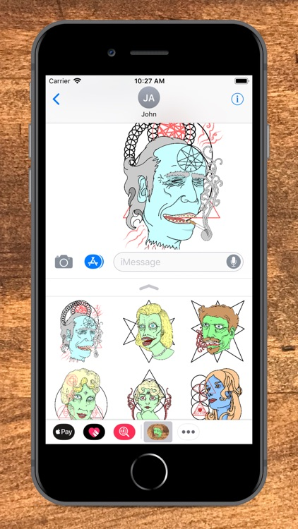 Portrait Art Sticker Pack