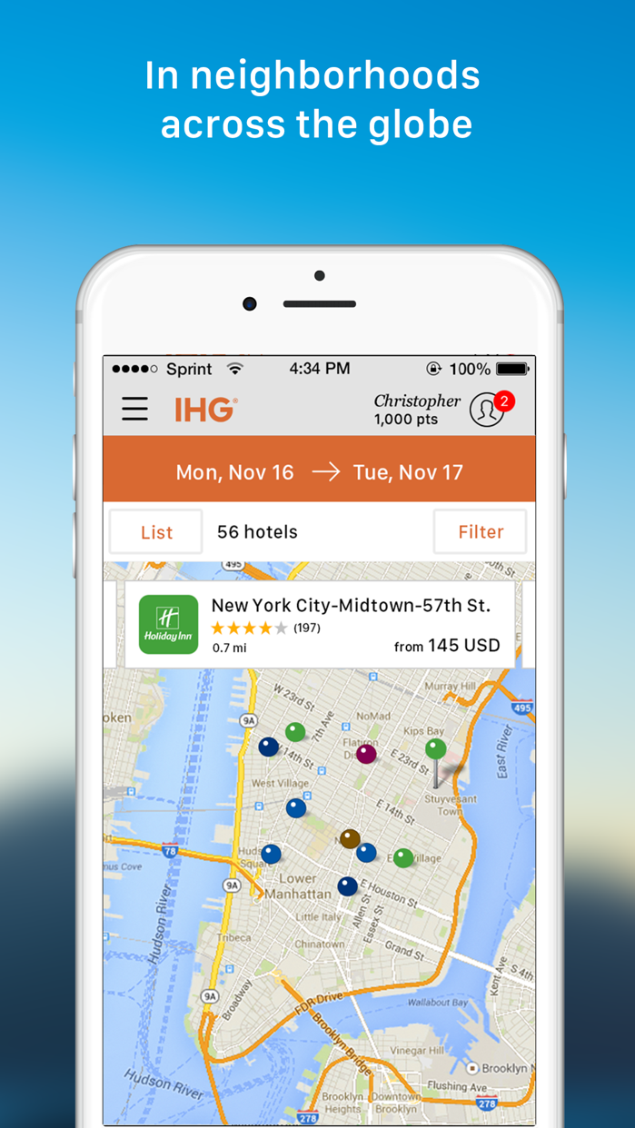 IHG® Hotel Deals & Rewards Screenshot
